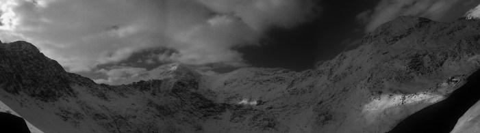 Wierd view of Snowdon Horseshoe looking Good!