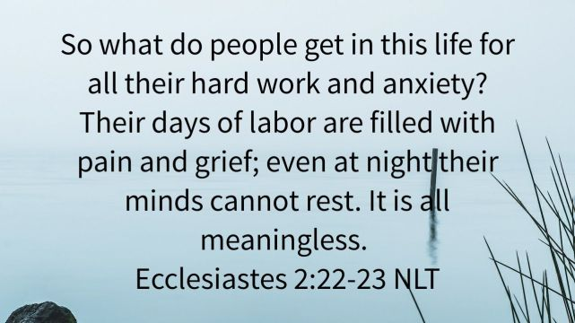 Stress From Work Is Meaningless