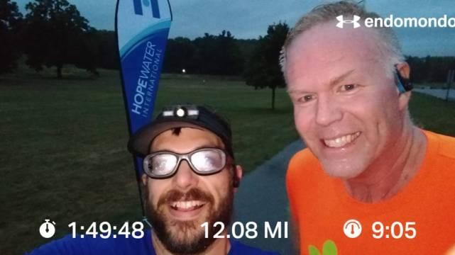 Rainy Saturday Morning 12 Mile Training Run