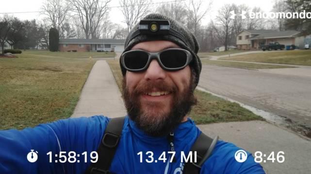 PR On A Half Marathon Training Run