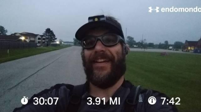 Tackling An Intense 30 Minute Thursday Run