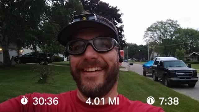 Just A Short Tuesday Run