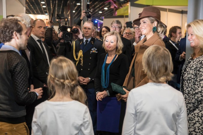 Queen Maxima visiting our project Otomori. photo: Jaarbeurs