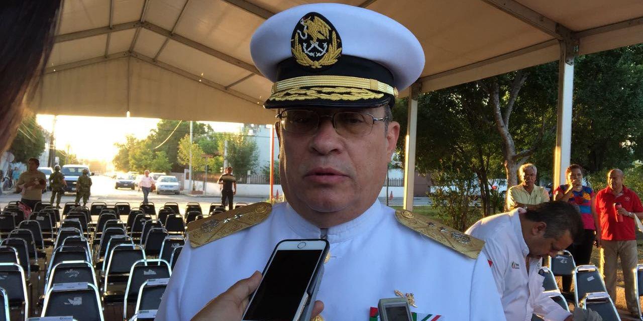 Relevan mando en Decima Zona Naval Militar de LC