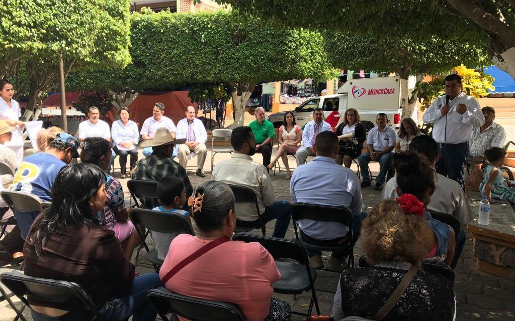 Jurisdicción Sanitaria No. 8 pone en marcha Médico en Tu Casa en Arteaga