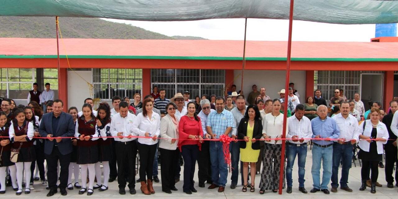 Histórica inauguración de plantel del CECyTEM en Galeana, municipio Puruándiro