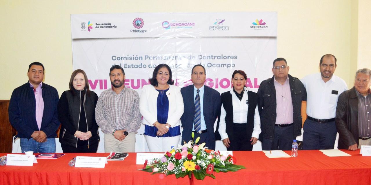 Realiza Secoem VII Reunión Regional de la Comisión Permanente de Contralores del Estado de Michoacán