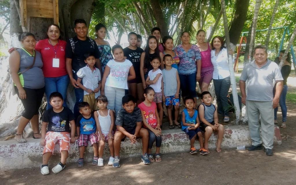 Imparte DIF Municipal curso de verano a niños de El Reino