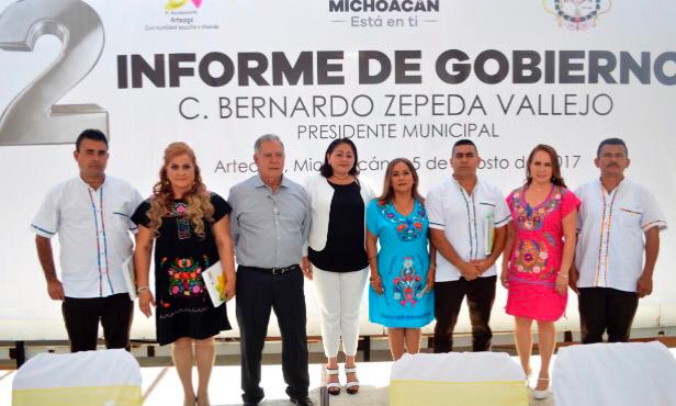 En Michoacán se sientan las bases para un desarrollo más próspero, seguro e igualitario: Silvia Estrada
