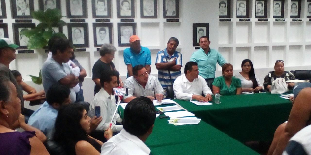 Obras en Playa Azul se recibirán hasta que cumplan requisitos: Comité de y Secretaria de Obras