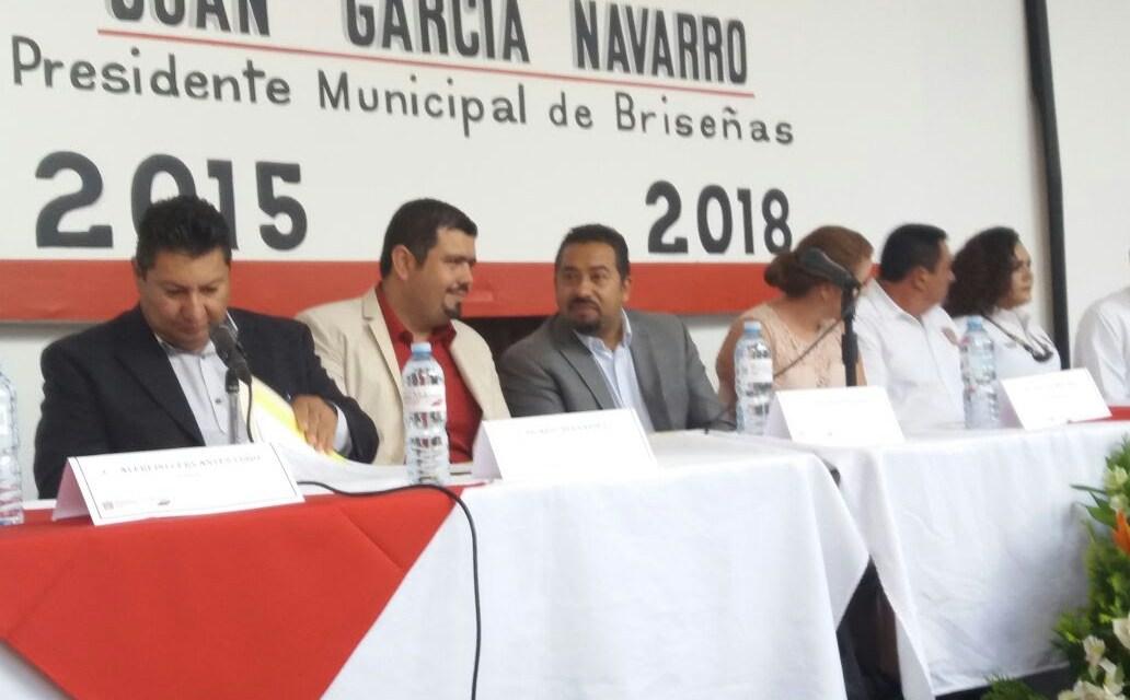 Gobierno del Estado destina 11.4 mdp a Briseñas para impulsar 31 obras y acciones