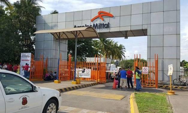 Cierran Arcelor Mittal funcionarios del Comité Directivo Local de la Sección 271 exigen seguridad