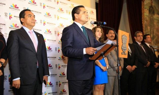 Anuncia Gobernador Silvano Aureoles ajustes en el Gabinete Estatal