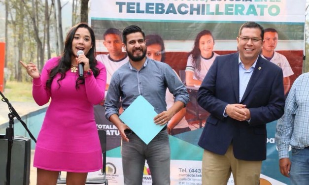 La Semana Cultural del Telebachillerato llegó al plantel Tenencia Morelos