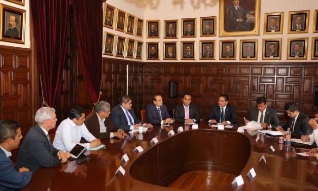 Se solidariza Gobernador con presidentes municipales del PAN