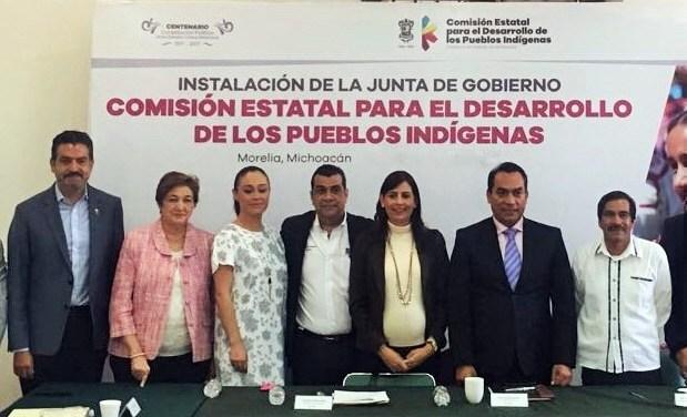 Gobierno del Estado articula planes y acciones para el desarrollo de los pueblos indígenas