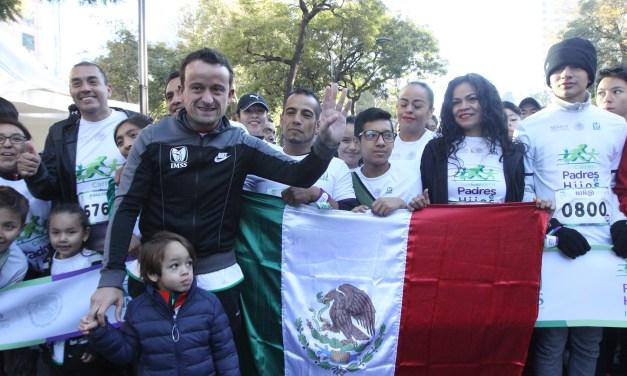 EL IMSS MANTIENE EL GUINNESS WORLD RECORDS  CON LA CARRERA DE PADRES, HIJOS E HIJAS