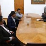 Diálogo, ruta para resolver problemáticas con los gremios: Adrián López