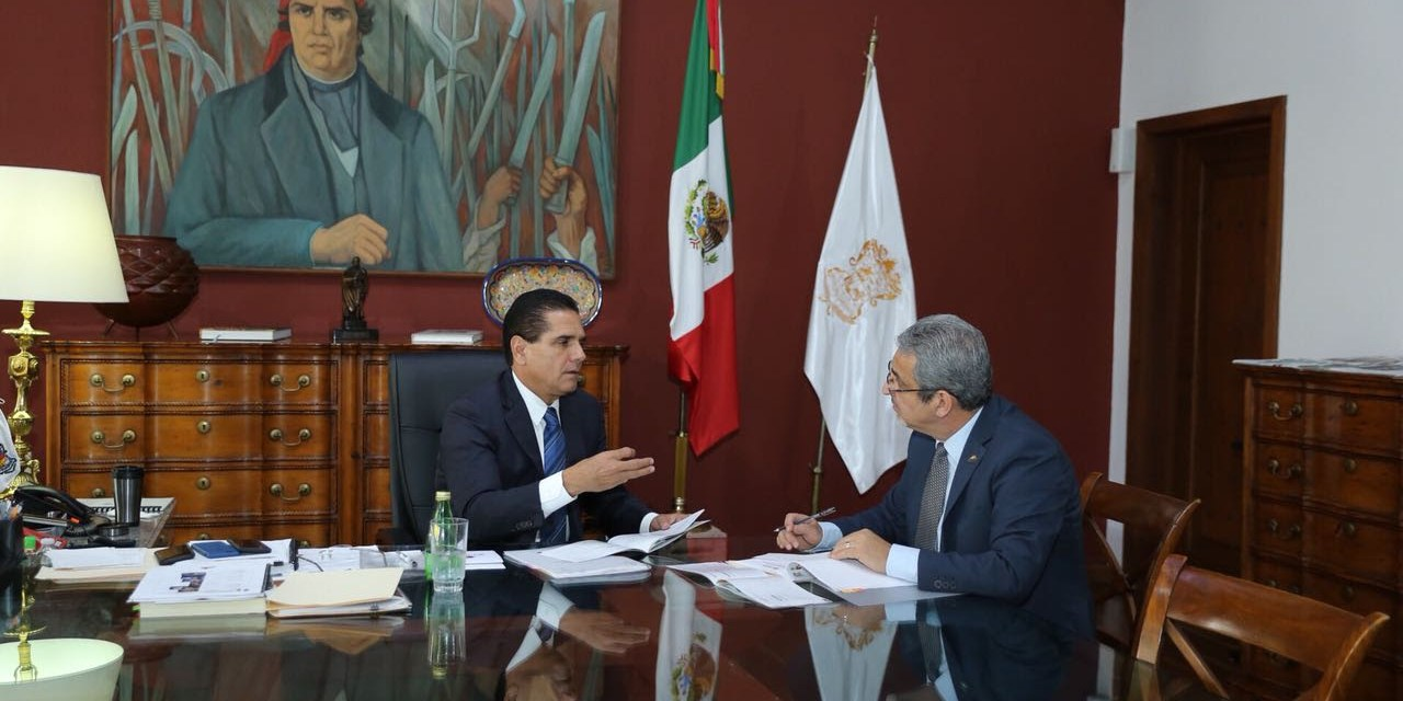 Revisa Gobernador proyectos a largo plazo en Michoacán