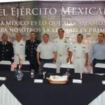 Alcalde felicita al Ejército por su aniversario