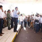 En Tuzantla confluye interés común de trabajar por nuestra gente: Gobernador