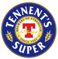 fusto TENNENT'S SUPER
