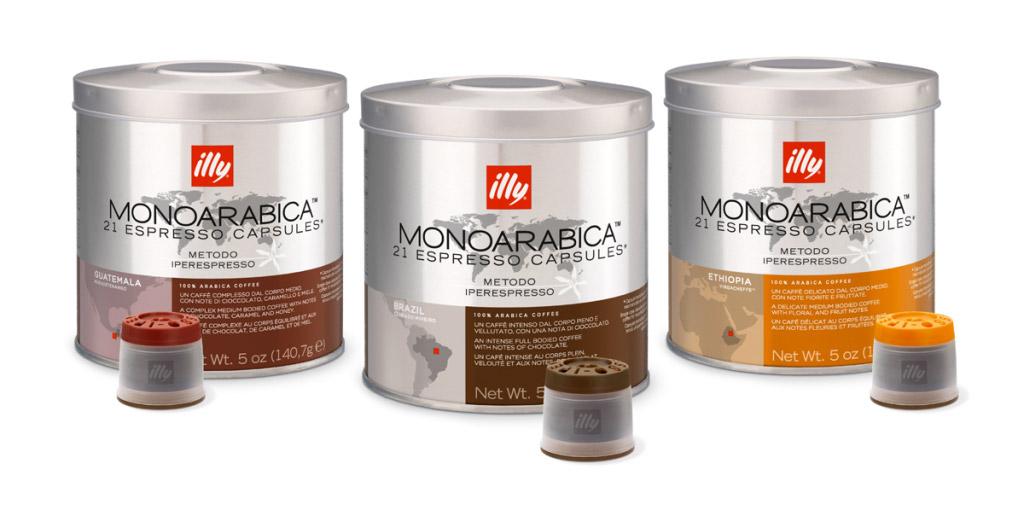 IPERESPRESSO Illy, per consumi quotidiani fino a 100 caffè