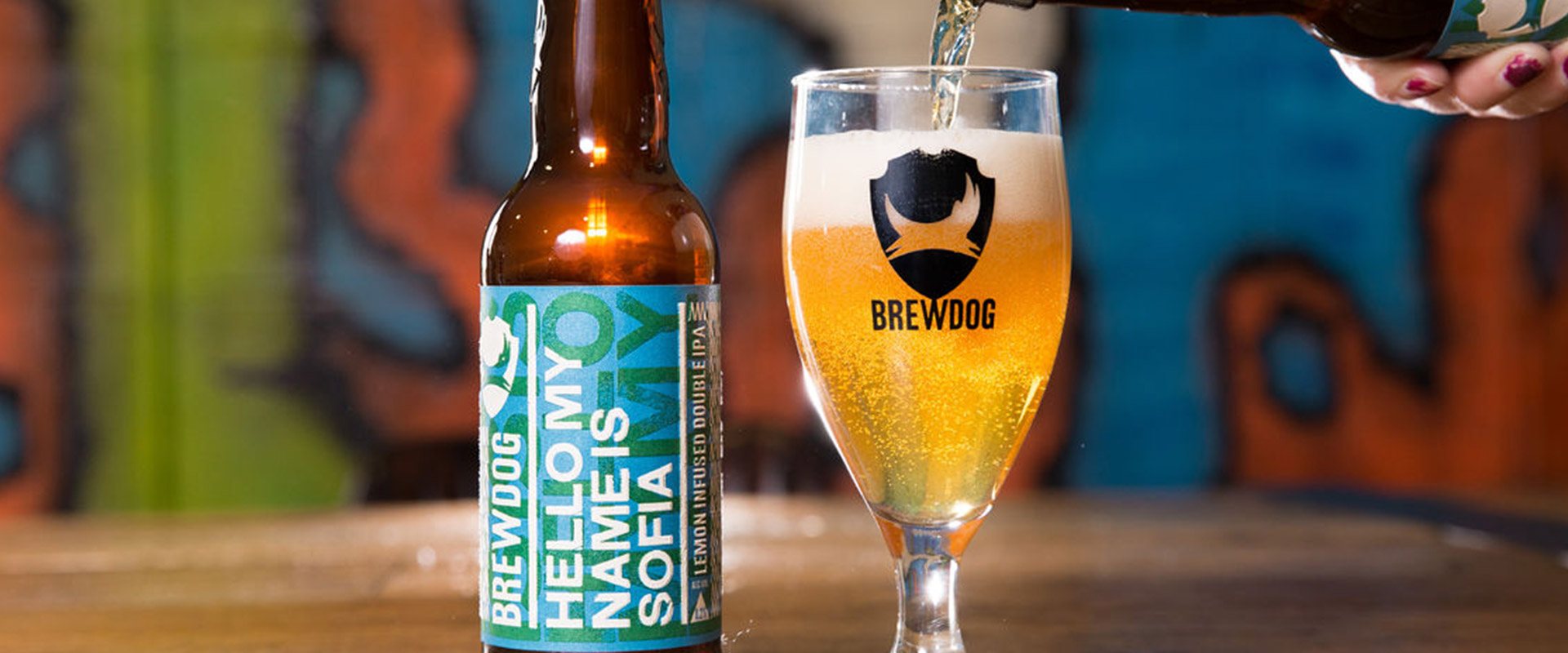 BrewDog celebra l'Italia: ecco Hello My Name is Sofia