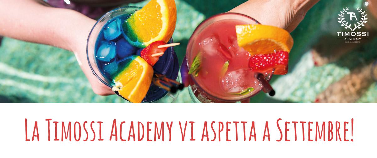 La Timossi Academy vi aspetta a Settembre!