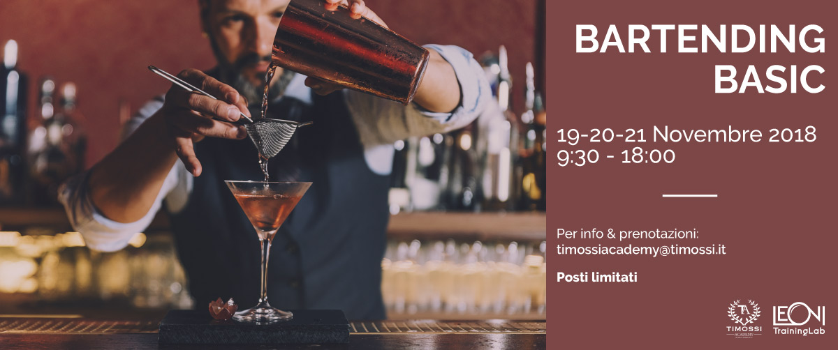 19/20/21 Nov 2018 – Bartending Basic