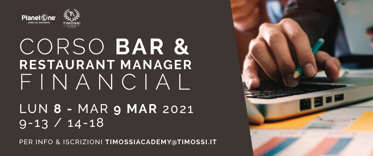 8 / 9 Mar 2021 – Corso Bar & Restaurant manager financial
