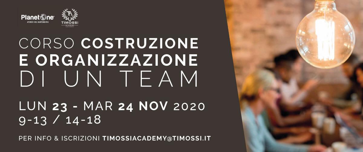 23 / 24 Nov 2020 – Corso Costruzione e organizzazione di un team