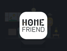 <strong>HOME FRIEND</strong> – Film en motion design pour l'app