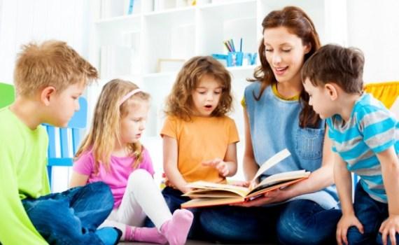 Girls reading books - education improvement