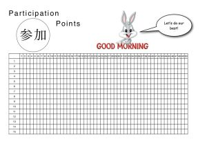 Participation Wall Chart