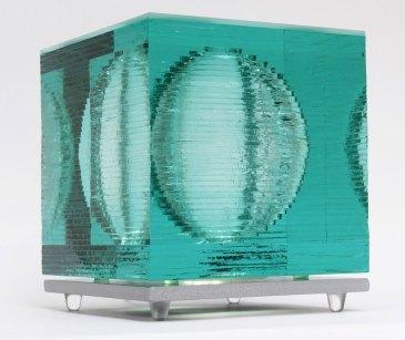 Glass Light Art Sculpture Sphere