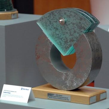 Glass Steel Sculpture Award American Graduate