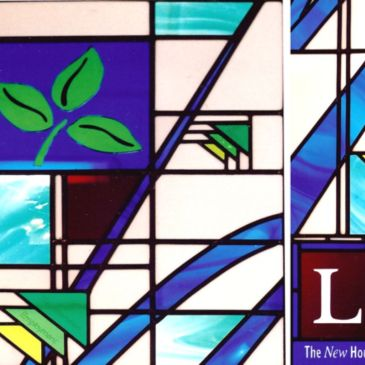 Stained Glass Art Glass Leading Bonding Etching