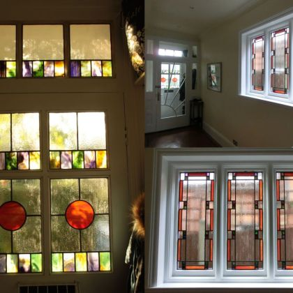 Stained Glass Door Leaded Windows Tim Carter