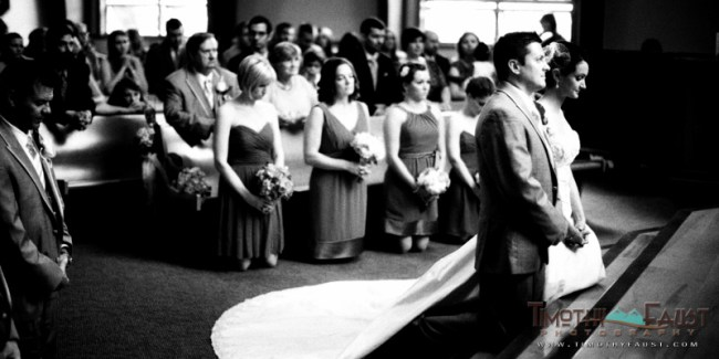 Couple at the Alter