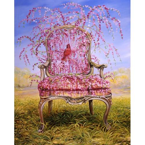 Flowering Weeping Cherry Chair