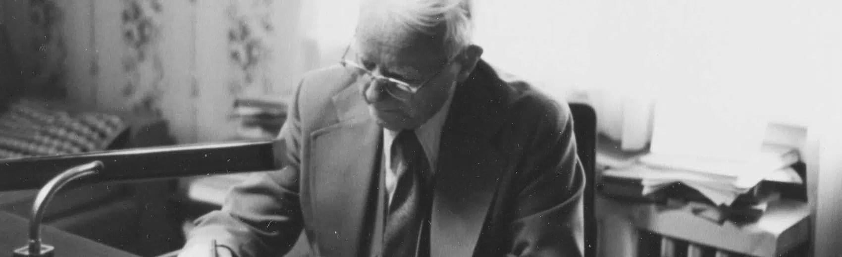 Cornelius Van Til writing