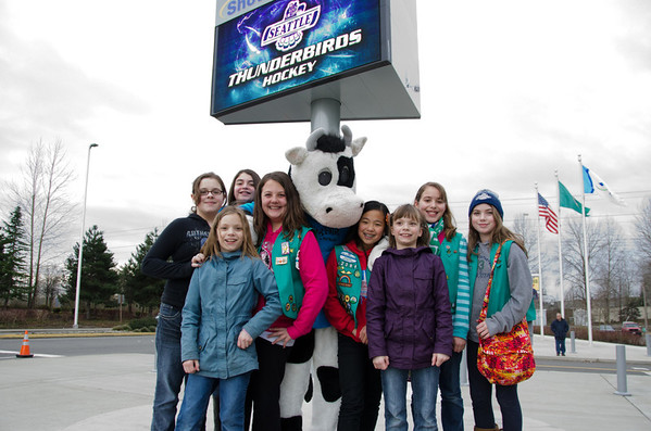 Bessie and the Girl Scouts