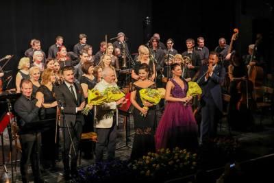 Eugen Doga, concert la  Palat Schonbrunn