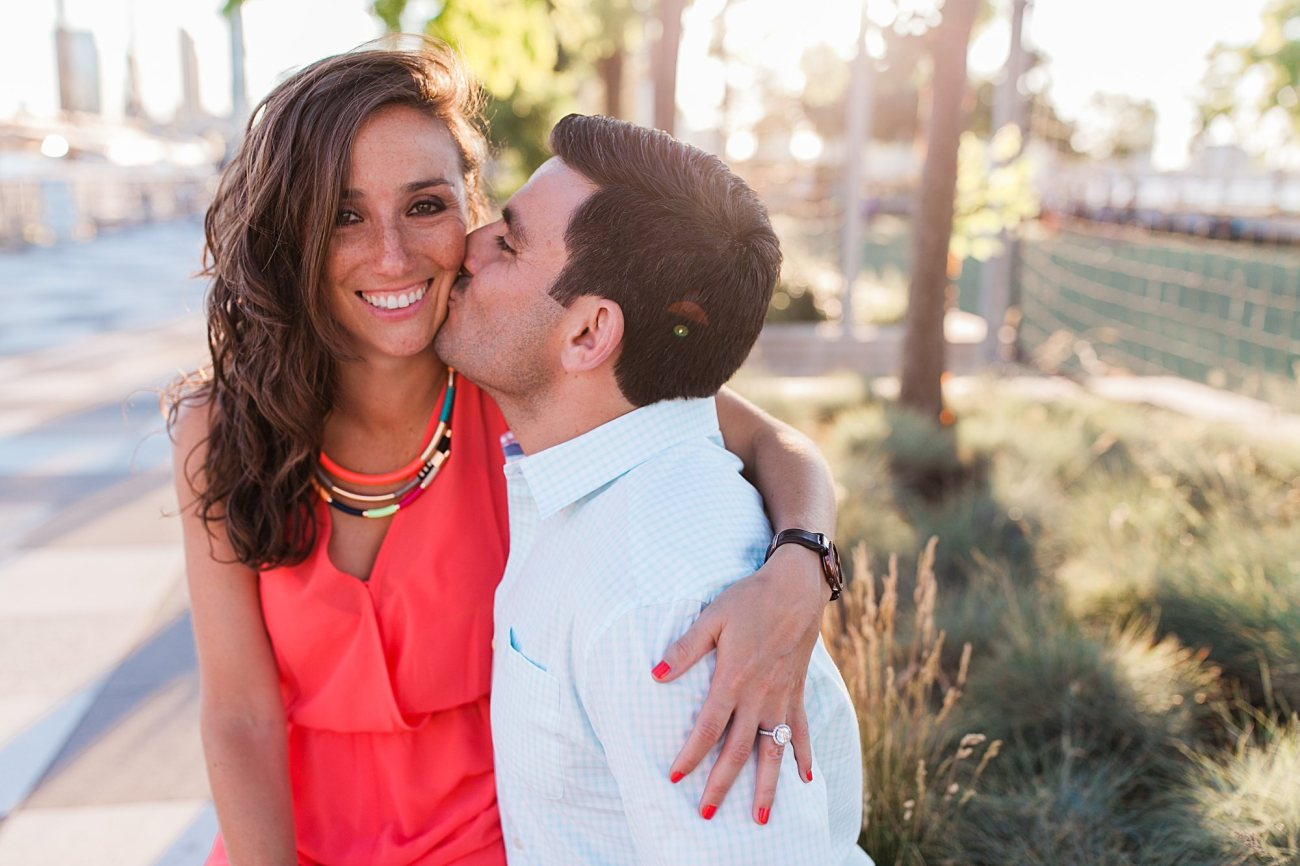 A West Village Engagement Session With Hudson River Views