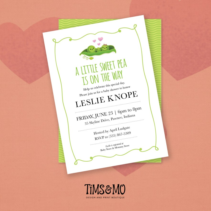 Personalized Baby Shower Invitations | Tims and Mo