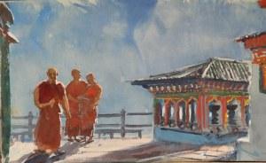 Monks Cheri Monestry