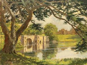 1764-Blenheim,-Oxfordshire,-oil45x60