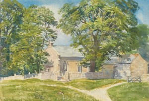 1716 Kirkeharle St Wilfred's Church, Northumberland wc36x54