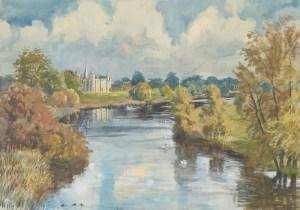 1754 Burghley, Lincs wc45x67